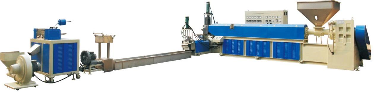 塑膠回收設備 Plastic recycled granulator equipment