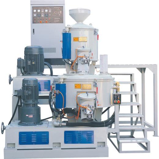 高速混合及立式冷却攪拌桶 High-speed mixer & vertical cooling blender