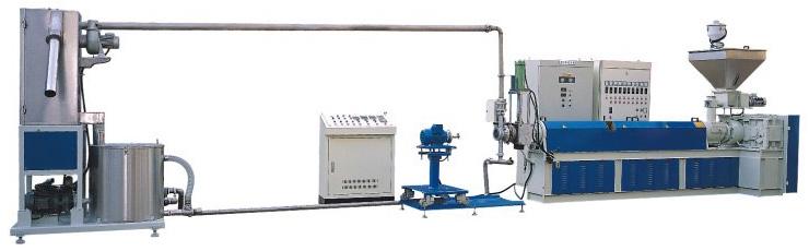 水中切粒制粒設備 单螺杆 Underwater pelletizer system