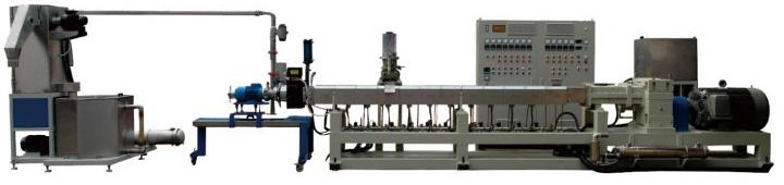 水中切粒制粒設備 双螺杆 Underwater pelletizer system