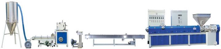 高速染色造粒設備 High-speed dyeing & engineering plastics granulation equipment